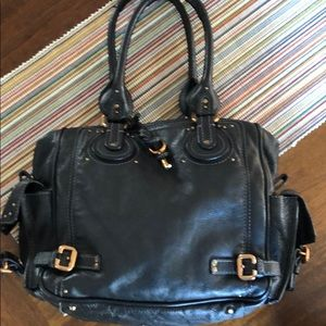 Mint condition Chloe large paddington black bag